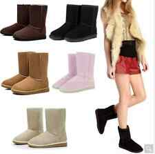 Stivali donna caldi tipo ugg corti Unisex Winter Warm Snow Half Boots Shoes