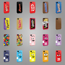 CHOCOLATE BAR WRAPPERS CASE HARD COVER FOR iPHONE SAMSUNG OR LG