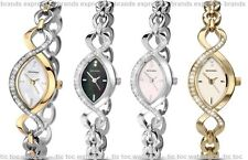 Sekonda Ladies Dress Watch - Cubic Zirconia Stones - Silver / Gold Bracelet