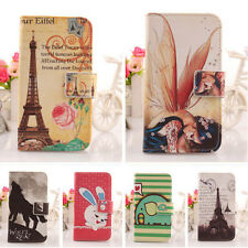 1X Lovely Design PU Leather Case Skin Protection Cover For Blu Smartphone New