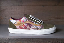 Vans Old Skool Reissue CA Camo Floral Dark Olive Men's Skate Shoes All Sizes NEW