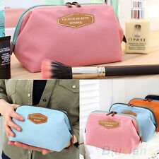 PORTABLE EXCLUSIVE MULTIFUNCTION TRAVEL COSMETIC BAG MAKEUP TOILETRY CASE POUCH