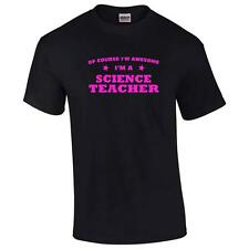 Of Course I'm Awesome I'm A Science Teacher Mens Big And & Tall T-Shirt Tee