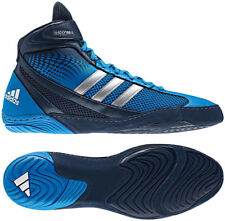New 14 adidas RESPONSE 3 III Wrestling Shoes Blue Navy Sydney Pretereo 2 G96626