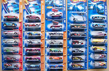 2007 Hot Wheels Choice Lot All Different With Variations #70 To #156 Lot 2 of 2