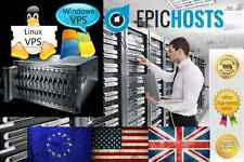 Windows VPS 3GB RAM 150GB HDD PC Virtual Private Server Dedicated VDS 2008 7 +
