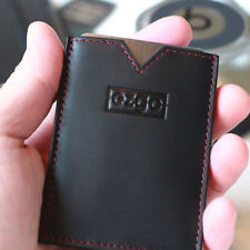 EZGO slim wallet™  The Minimal, slim, handmade, leather, RFID blocking wallet!