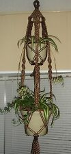 Macrame Double Plant Hanger / Choose Color