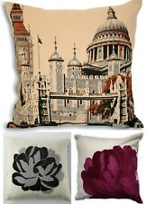 Retro Scatter Cushion Covers Cases Vintage Style Square Oblong Trendy Modern New