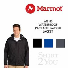 NEW MARMOT MENS WATERPROOF BREATHABLE PACKABLE PreCip® JACKET S-2X