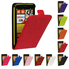 For NOKIA LUMIA 625 PU Leather Magnetic flip case skin cover #