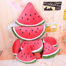 Fruit Watermelon Cushion Pillow New  Lovely Plush Toys birthday gifts  JA0003