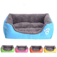 New Pet Dog Cat Bed Mat Puppy Cushion House Pet Soft Warm Kennel 5 Color
