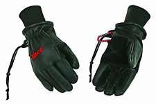 Kinco 900 MAX Mens Winter Ski Gloves Premium Pigskin Leather Black Size M, L, XL
