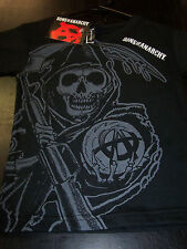 SONS OF ANARCHY CLASSIC REAPER TODDLER SHIRT NEW !