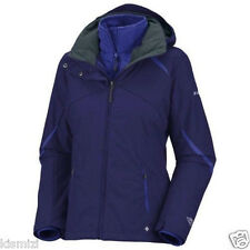 "NEW WOMENS COLUMBIA""BUGABOO"" 3IN1 WINTER JACKET COAT OMNI TECH PARKA 1X-2X-3X"