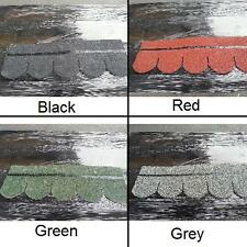 FISHSCALE ROOF FELT TILES SHINGLES PACK OF 21 ASPHALT BITUMEN SELF ADHESIVE