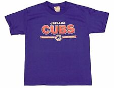 Chicago Cubs National League Central Division Youth Royal Blue T-shirt