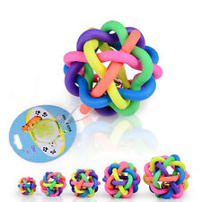Pet Rope Dog Puppy Cat Bell Sound Ball cottons Chews Toy Rubber Playing Toy New