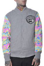 Mens Holiday Pink Dolphin Authentic Plus Size Camo Anime Boo Face Bomber Jacket
