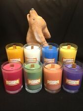howlin' dog soy candles with wood wick