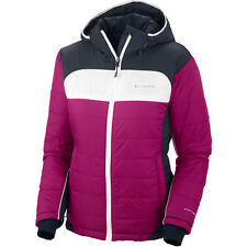 """New Womens Columbia """"Shimmer Flash"""" Omni-Heat Insulated Jacket Coat Small"""