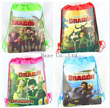 How to Train Your Dragon Backpack Swimming Clothes Environmental Toy Drawstring