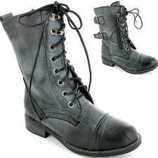 Amazing New Kids Boys Girls Military Combat Worker Boots Winter Children Size