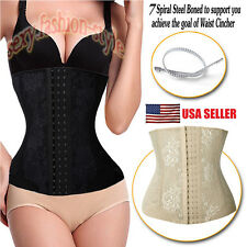 Belly Band Corset Waist Trainer Cincher Contral Body Shaper Underbust Corset #22