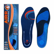 Sof Sole Airr Performance Insole Heel Arch Firm Support Cushion Relief Insoles