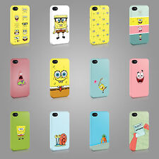 SPONGEBOB SQUAREPANTS BOB CASE HARD COVER FOR iPHONE OR SAMSUNG CARTOON