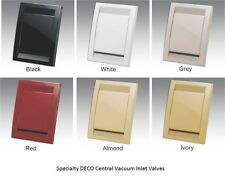 Beam Central VAcuum Inlet Valves multiple Color Options, Standard Inlet Style