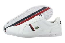 Lacoste Europa FRX 7-27SPM3026X96 White Leather Casual Shoes Medium (D, M) Men
