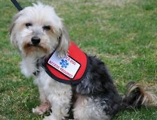 Service Dog Vest XSmall 7- 11 Pounds Complete 2 Patches