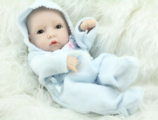 "12"" Full Vinyl Reborn Baby Boy Girl Doll Lifelike Hobbies Real Looking Baby Doll"