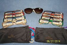 Joy Mangano 18 pc Readers Reading Glasses w/ Bifocal Sunglasses -Choose Strength
