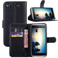 Card hold wallet Leather stand case Alcatel One Touch Idol Alpha OT 6032A 6032X