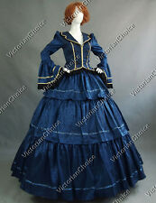 Civil War Victorian Gown Period Dress Reenactment Clothing Theatre Quality 188