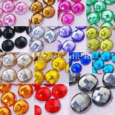 6mm Globe Cut Rhinestone Flat Back Bling Gem Crystal Scrapbooking Wedding
