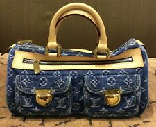 BNWT AUTHENTIC LOUIS VUITTON LIMITED EDITION DENIM TOTE SATCHEL BAG HANDBAG