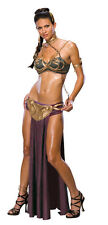 STAR WARS PRINCESS LEIA SLAVE COSTUME WOMEN ADULT XS HALLOWEEN SEXY STAR WARS