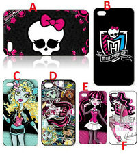 Monster High Case For Iphone 4 4s 5 5s 5c Frankie Stein Draculaura Lagoona Cover