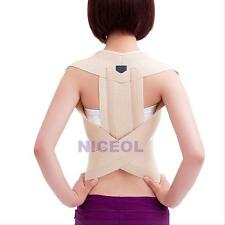 New Back Posture Corrector Brace Band Shoulder Support Belt Pain Relief S-XL