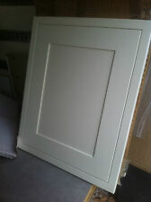 MFI painted white shaker in frame Solid wood kitchen unit cabinet door fronts