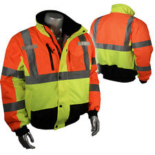 Radians, High Visibility Class 3 Multi-Color Bomber Jacket, SJ12, Hi-Viz