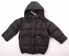 NWT $155 Toddler Boy POLO RALPH LAUREN Down Snow Coat Puffer Hooded Jacket 3T/4T