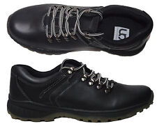 Mens Smart Casual Grip Sole Office School Hiker Lace Up Trainer Shoes Size 6-11