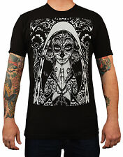 Mens Dark of Night by Josh Stebbins T Shirt Our Lady of Guadalupe Day the Dead