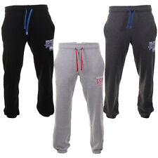 Mens Ecko Casual Track Bottoms Cuffed Leg Joggers Transporter In 3 Colours