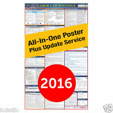 State Specific & Federal Labor Law Poster With 1 Year Update Service Included